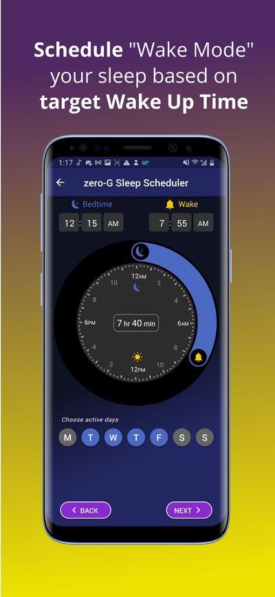 Schedule a Wake Mode sleep sequence