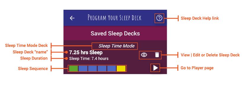 sleep time mode detail