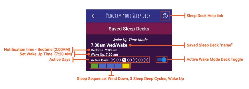 wake time mode detail